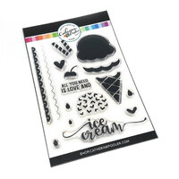 Catherine Pooler Designs - Clear Photopolymer Stamps - 3 Scoops