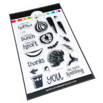 Catherine Pooler Designs - In The Kitchen Collection - Clear Photopolymer Stamps - Veggies, Please