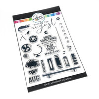 Catherine Pooler Designs - Clear Photopolymer Stamps - Hooray For August