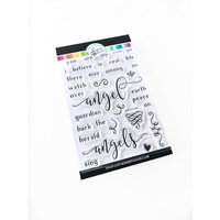 Catherine Pooler Designs - Clear Photopolymer Stamps - Believe in Angels