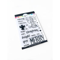 Catherine Pooler Designs - Clear Photopolymer Stamps - Merry Christmas Angel