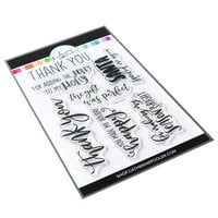 Catherine Pooler Designs - Frosted Thanks Collection - Clear Photopolymer Stamps - Jolly Thanks