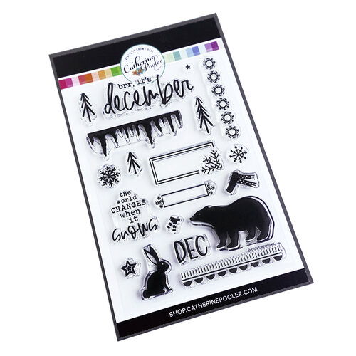 Catherine Pooler Designs - Clear Photopolymer Stamps - Brr, it