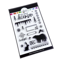 Catherine Pooler Designs - Clear Photopolymer Stamps - Brr, it's December