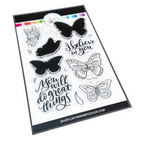 Catherine Pooler Designs - Clear Photopolymer Stamps - Great Wings