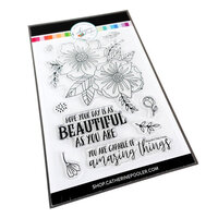 Catherine Pooler Designs - Beautiful New Year Collection - Clear Photopolymer Stamps - Beautiful Day Floral