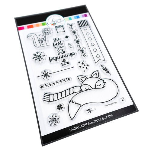 Catherine Pooler Designs - Clear Photopolymer Stamps - New Beginnings