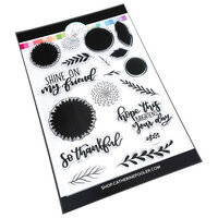 Catherine Pooler Designs - Out West Collection - Clear Photopolymer Stamps - Shine On Sunflowers