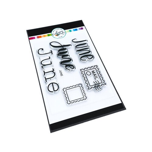 Catherine Pooler Designs - Clear Photopolymer Stamps - June