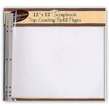 Tapestry By Cr Gibson 12x12 Page Protectors Album Refills