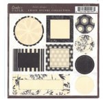Crate Paper - Avenue Shape Diecuts - Avenue Collection