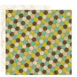 Crate Paper - Brook Collection - 12 x 12 Double Sided Paper - Pebbles