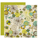 Crate Paper - Brook Collection - 12 x 12 Double Sided Paper - Float