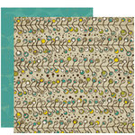 Crate Paper - Brook Collection - 12 x 12 Double Sided Paper - Branch, CLEARANCE