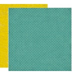 Crate Paper - Brook Collection - 12 x 12 Double Sided Paper - Ripple