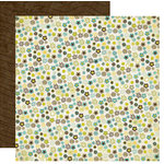 Crate Paper - Brook Collection - 12 x 12 Double Sided Paper - Wild Flowers, CLEARANCE
