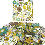 Crate Paper - Brook Collection - Chipboard Stickers - Accents