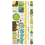 Crate Paper - Brook Collection - Cardstock Stickers - Title, CLEARANCE