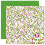 Crate Paper - Bliss Collection - 12 x 12 Double Sided Paper - Lucky, CLEARANCE
