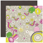 Crate Paper - Bliss Collection - 12 x 12 Double Sided Paper - Groovy, CLEARANCE