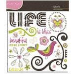 Crate Paper - Bliss Collection - Rub Ons, CLEARANCE