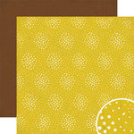 Crate Paper - Cottage Collection - 12 x 12 Double Sided Paper - Fireflies, BRAND NEW