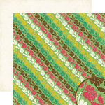 Crate Paper - Cottage Collection - 12 x 12 Double Sided Paper - Rose Garden, CLEARANCE