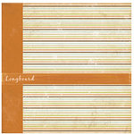 Crate Paper - Double Sided Textured Paper - Crush Collection - Longboard, CLEARANCE