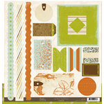 Crate Paper - Crate Bands Tags and Frames - Crush Collection, CLEARANCE