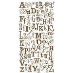 Crate Paper - Rub-On Transfers - Alpha Mishmash, CLEARANCE
