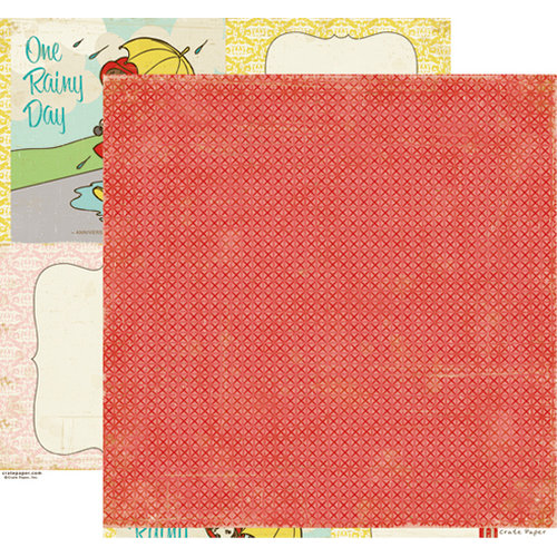 Crate Paper - Emma's Shoppe Collection - 12 x 12 Double Sided Paper - Dolls