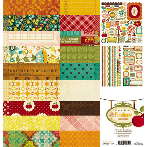Crate Paper - Farmhouse Collection Kit