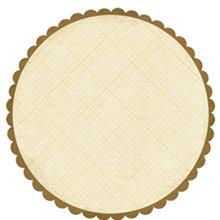 Crate Paper - Lemon Grass Collection - 12 x 12 Die Cut Paper - Lemon