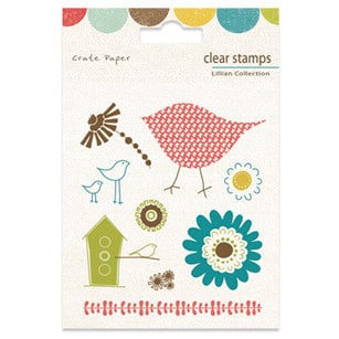 Crate Paper - Lillian Collection - Clear Stamps, CLEARANCE
