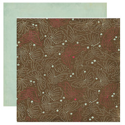 Crate Paper - Mia Collection - 12 x 12 Double Sided Textured Paper - Mingle, CLEARANCE