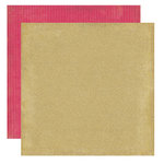 Crate Paper - Mia Collection - 12 x 12 Double Sided Textured Paper - Whirl