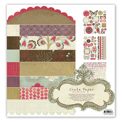 Crate Paper - Mia Collection Kit, CLEARANCE