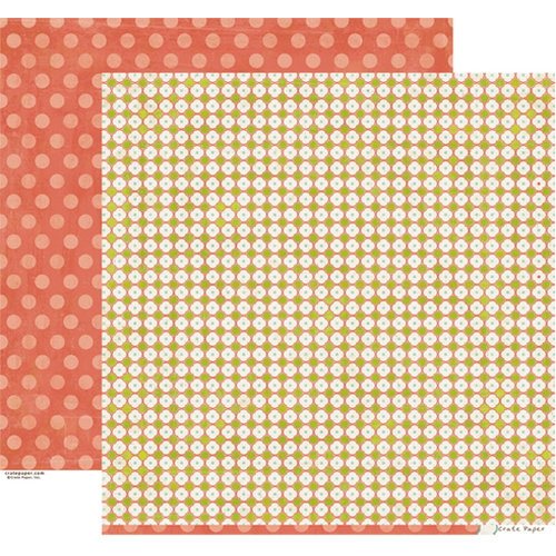 Crate Paper - Neighborhood Collection - 12 x 12 Double Sided Paper - Visit