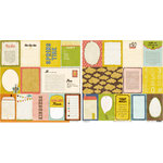 Crate Paper - Neighborhood Collection - 12 x 12 Double Sided Paper - Accent Cuts