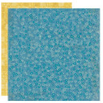 Crate Paper - Orbit Collection - 12 x 12 Double Sided Textured Paper - Galaxy