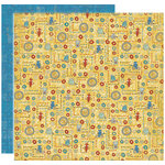 Crate Paper - Orbit Collection - 12 x 12 Double Sided Textured Paper - Playtime