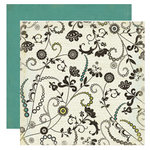 Crate Paper - Prudence Collection - 12 x 12 Double Sided Textured Paper - Consideration