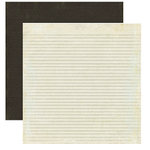 Crate Paper - Prudence Collection - 12 x 12 Double Sided Textured Paper - Virtue, CLEARANCE