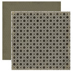 Crate Paper - Prudence Collection - 12 x 12 Double Sided Textured Paper - Fortitude
