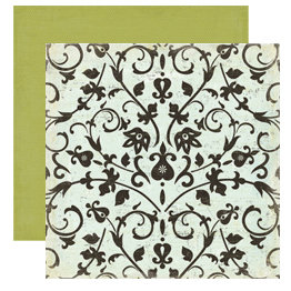 Crate Paper - Prudence Collection - 12 x 12 Double Sided Textured Paper - Temperance