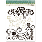 Crate Paper - Prudence Collection - Design Rub Ons