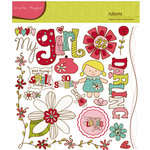 Crate Paper - Paper Doll Collection - Rub Ons, CLEARANCE
