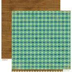 Crate Paper - Peppermint Collection - Christmas - 12 x 12 Double Sided Paper - Ski Lodge