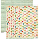 Crate Paper - Peppermint Collection - Christmas - 12 x 12 Double Sided Paper - Embellish