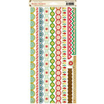 Crate Paper - Peppermint Collection - Christmas - Cardstock Stickers - Borders